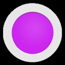 Circle, Purple icon