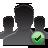Check, Group, User icon