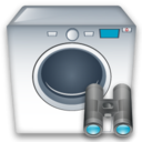 Machine, Search, Washing icon
