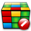 cube,cancel,stop icon