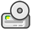 Cd, Driver, Rom icon