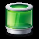 recycle, bin, green icon