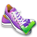 shoes,ok,right icon