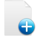 document, new, file, paper icon
