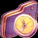 Folder, In, Progress, Violet icon
