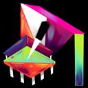 Ag, Folder, Notepad icon