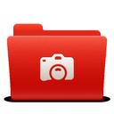 folder, photo, new, red, soda icon