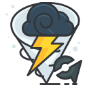 storm, play, weather, game, go, pokemon icon