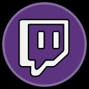 twitch, media, social icon