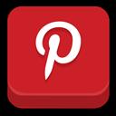 , Pinterest icon