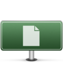 Documents Sign icon