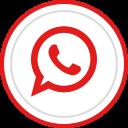 brand, whatsapp, media, social, logo icon