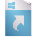 shortcut, gnome, ms, mime icon