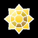 sunflower, go, pin, pokemon, badge icon