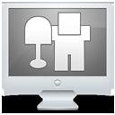 display, screen, monitor, computer, digg, social icon