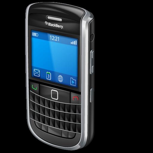 bold, blackberry icon