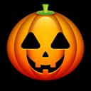 jack o lantern, halloween, squash icon