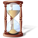 hourglass, history, time, wait icon