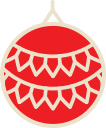 ball, christmas, decoration, xmas icon