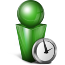 Absent green icon