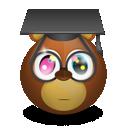 bear, graduating icon