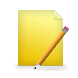 edit, document, write, writing, file, paper icon