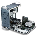 g, motherboard, apple, power mac icon