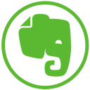 evernote, elephant, social icon