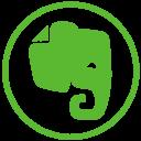 evernote, elephant, social icon