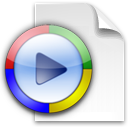 windowsmedia, video icon