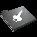 password, key, grey icon