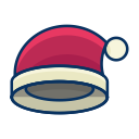 clothes, clothing, hat, fashion, christmas icon