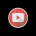 social, tube, yt, videos, internet, youtube icon