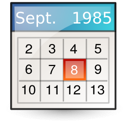 text, vcalendar, gnome, file, mime, document icon