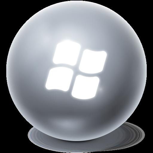 bright, window, ball icon