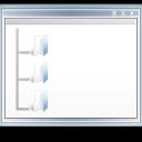 view, window, plant, tree, folder icon