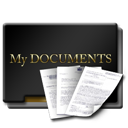 Gold, Mydocuments icon
