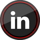 social, linkedin, logo, media icon