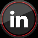 social, linkedin, logo, media icon
