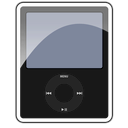3g, Black, Ipod, Nano icon
