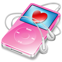 pink, ipod, video, favorite icon