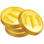 finance, shopping, coin, money, dollar, cash, shop, price, currency, credit, webshop, business, ecommerce, payment, buy, sale, financial icon