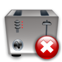 Close, Toaster icon