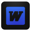 Blueberry, Word icon