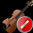 Cancel, Violin icon