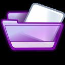 folder violet icon