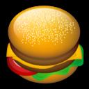 hamburger, food icon