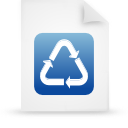 paper, blue, document, file icon