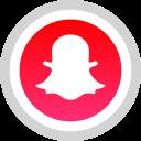 logo, snapchat, social, media icon