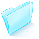 dossier,blue,normal icon